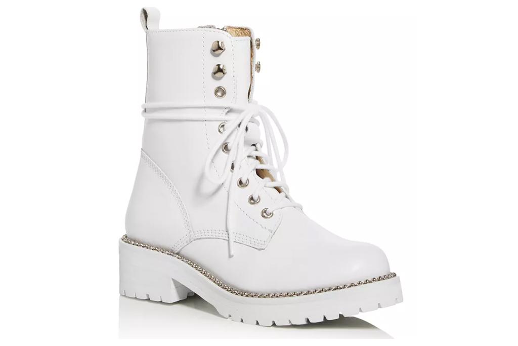 aqua, boots, combat boots, white