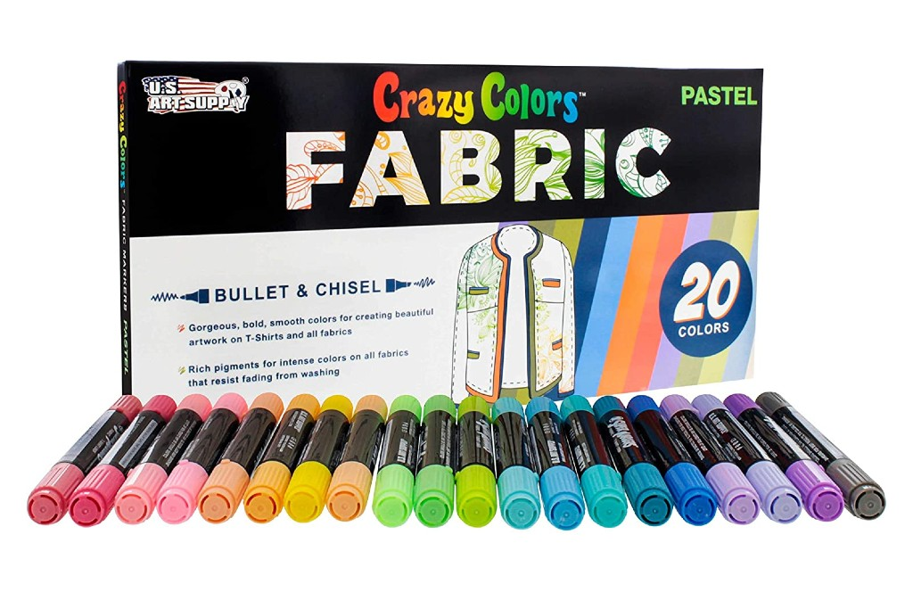 Art Supply Double-Ended Fabric Markers