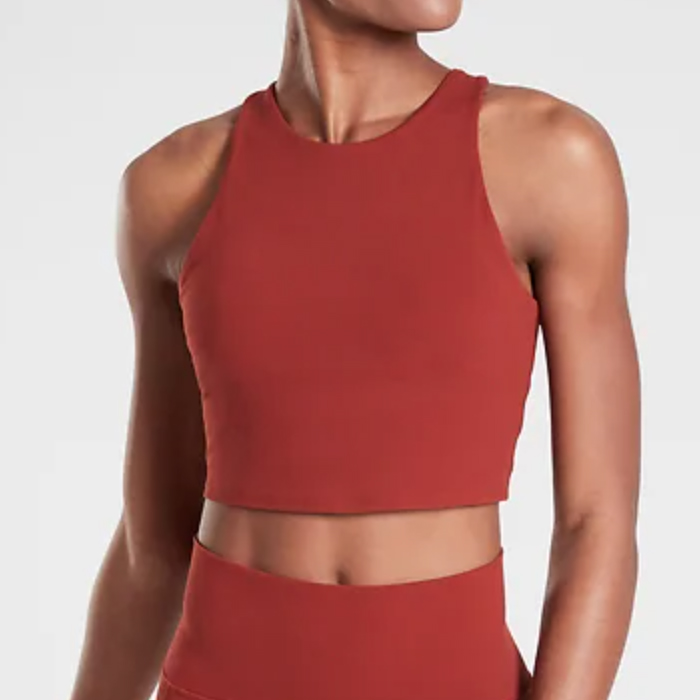 athleta, crop top
