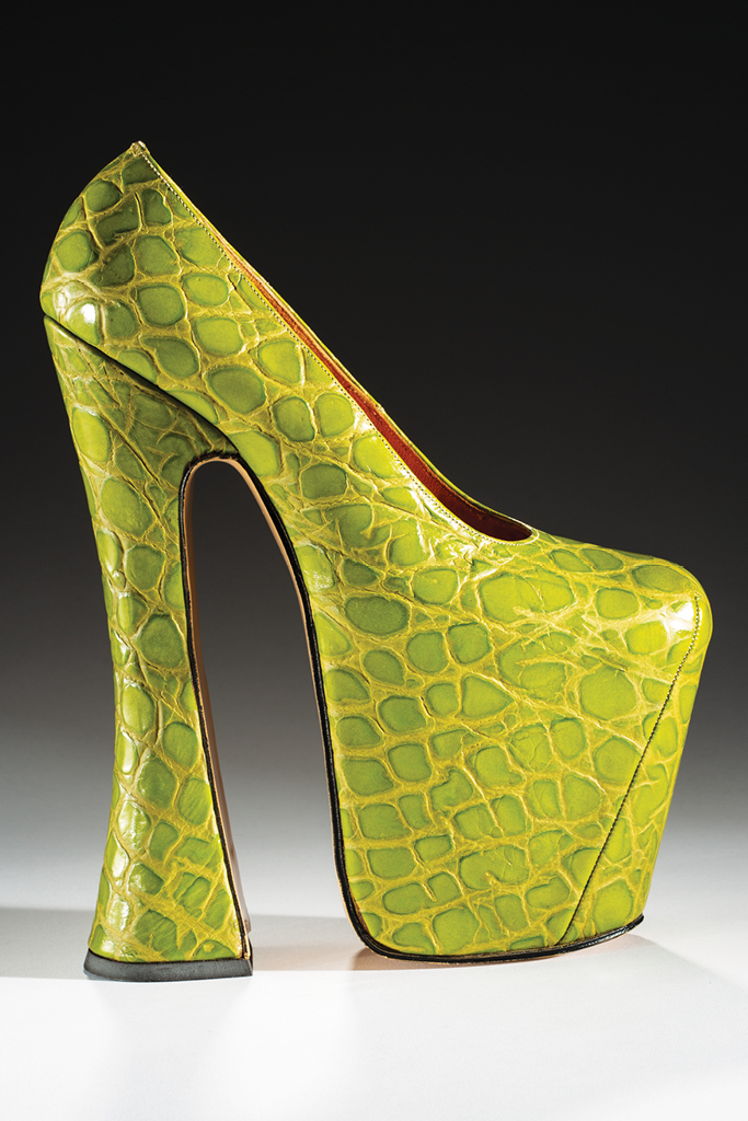 bata shoe museum book, vivienne westwood 1993 platform pump, centuries of shoes