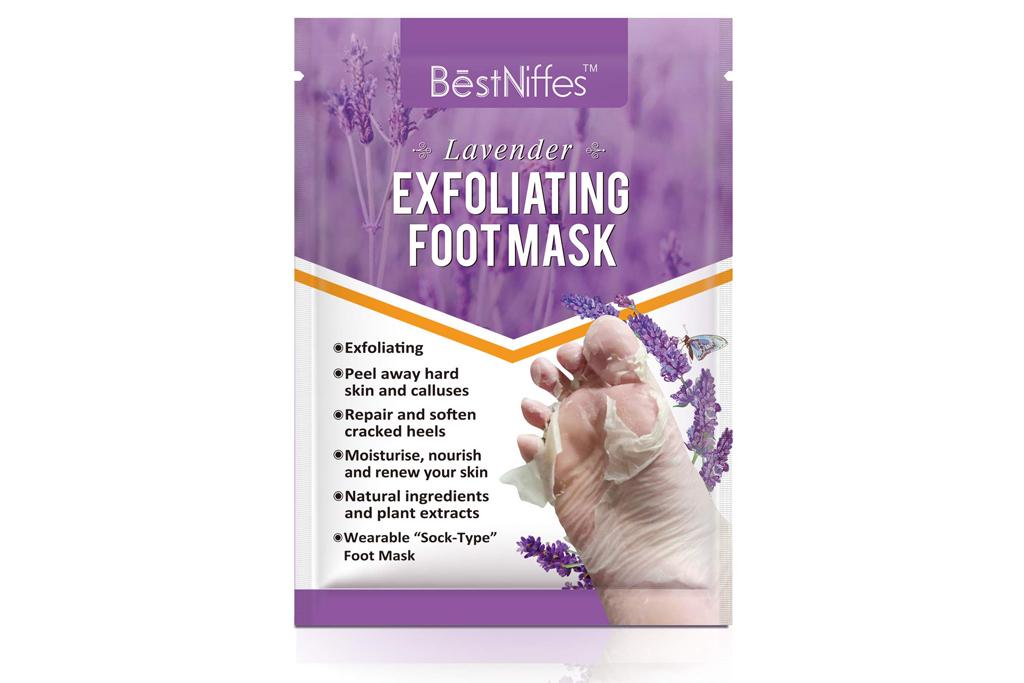 best niffes, foot peel mask