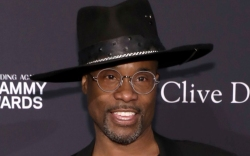billy porter, style, hat, glasses