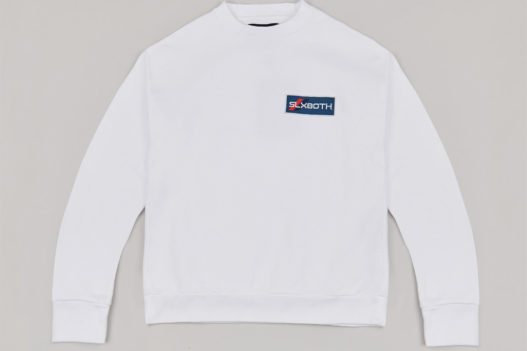 Both x Second Layer Crewneck in white, collab, workwear