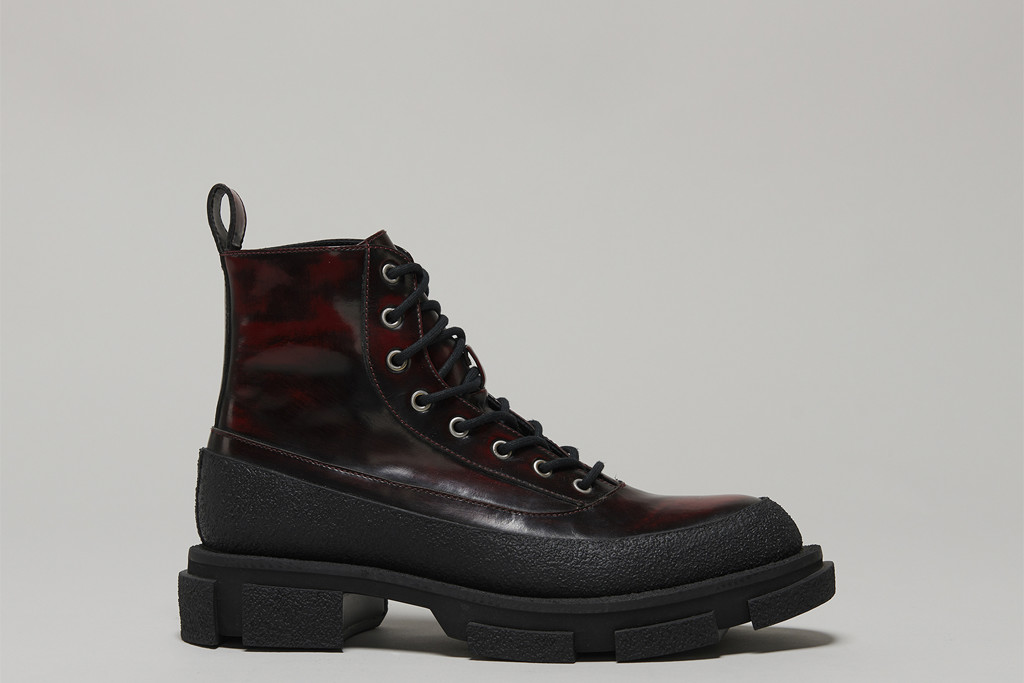 BOTH X SECOND LAYER-GAO COMBAT-CHERRY, both x sl, boots