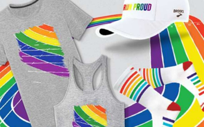 Brooks Run Proud collection Pride Month