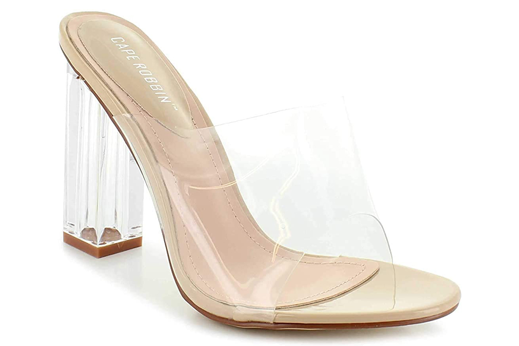 Cape Robbin, clear sandals