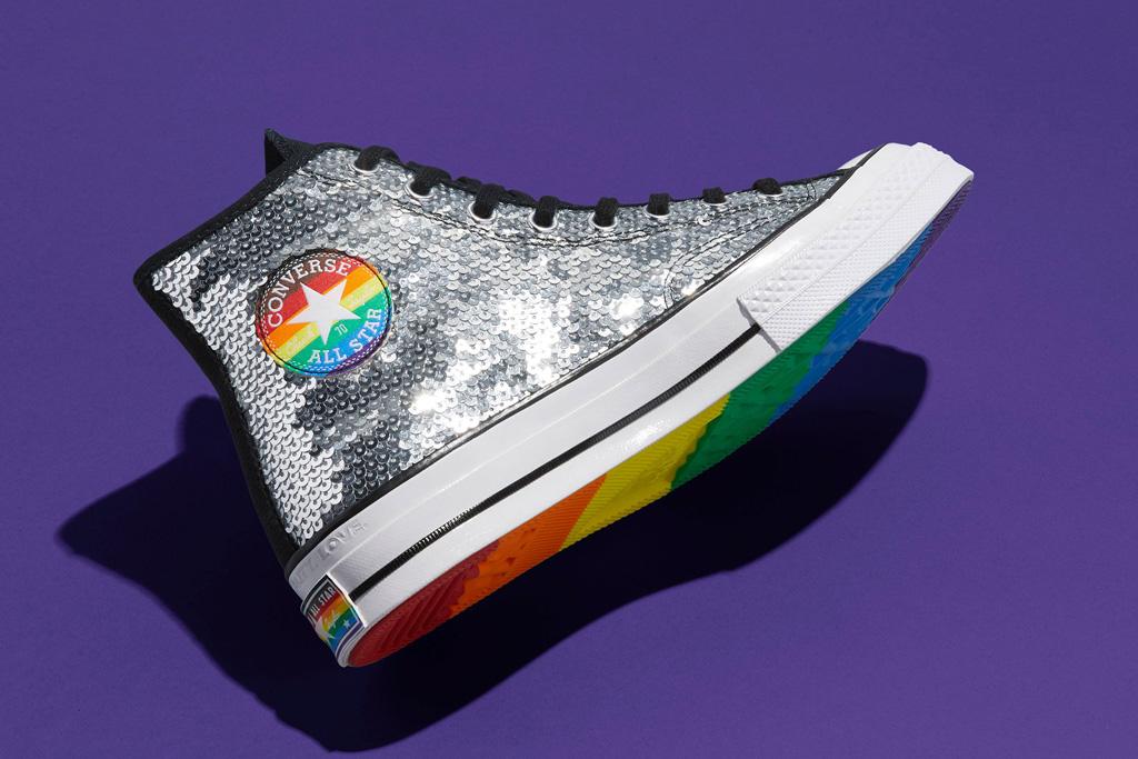 converse, pride 2020, pride collection, lgbtq, design, shoes, rainbow