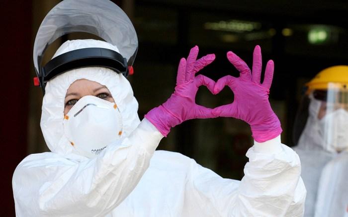 Daily life during the Coronavirus outbreak.Coronavirus outbreak, Parma, Italy - 09 Apr 2020