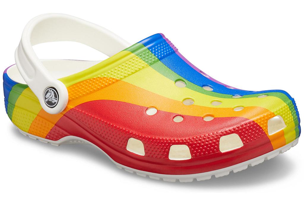 Crocs, clog, pride month