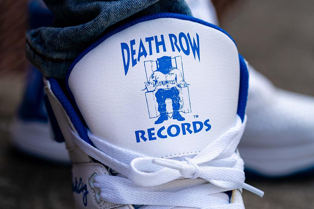 Death Row Records x Ewing Athletics 33 Hi White Royal