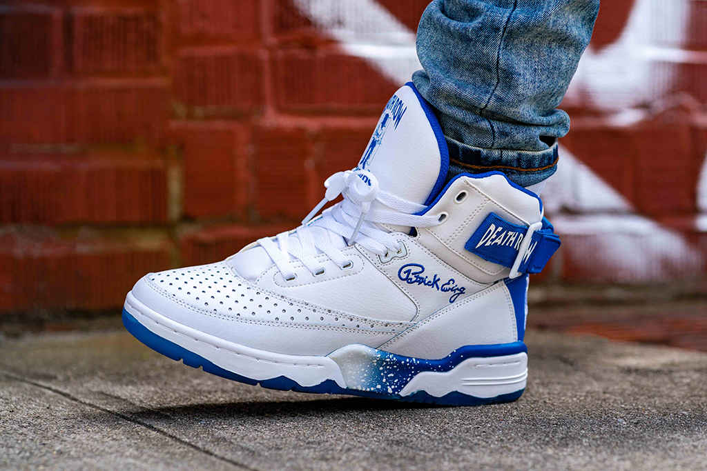 Death Row Records x Ewing Athletics 33 Hi White Royal