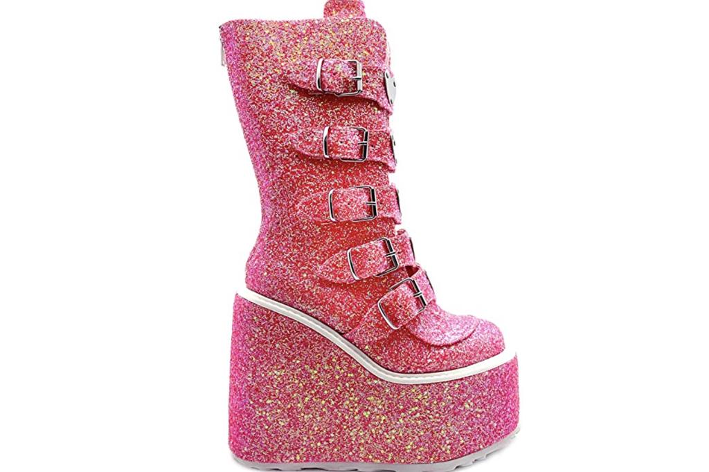 Demonia Glitter Boot