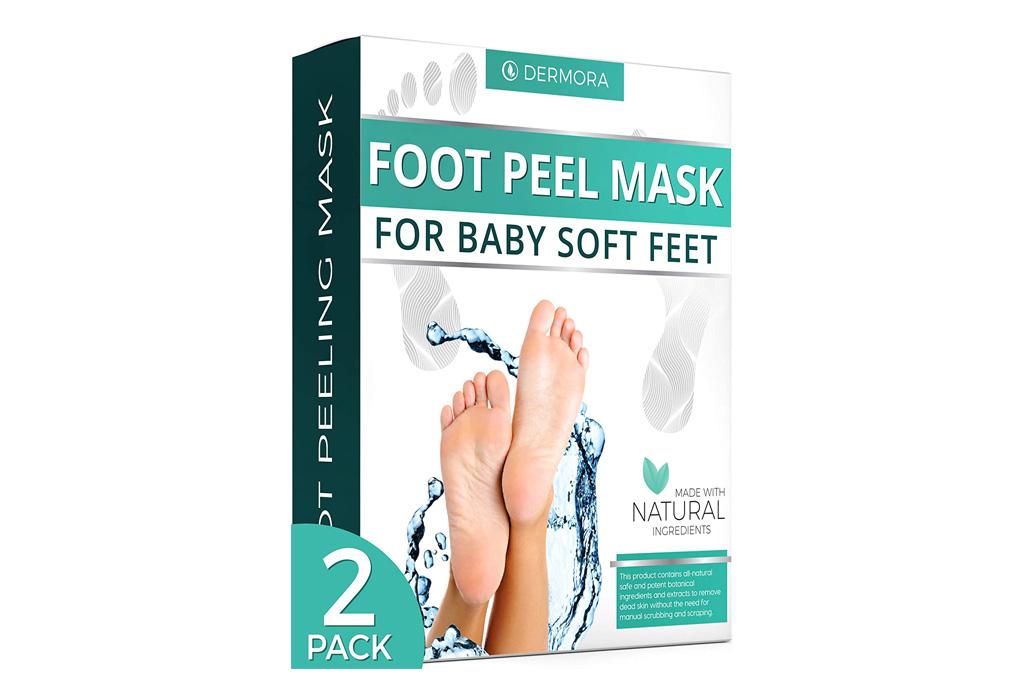 dermora, foot peel mask
