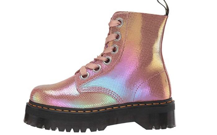 Dr Martens, Pink Platform, Boot