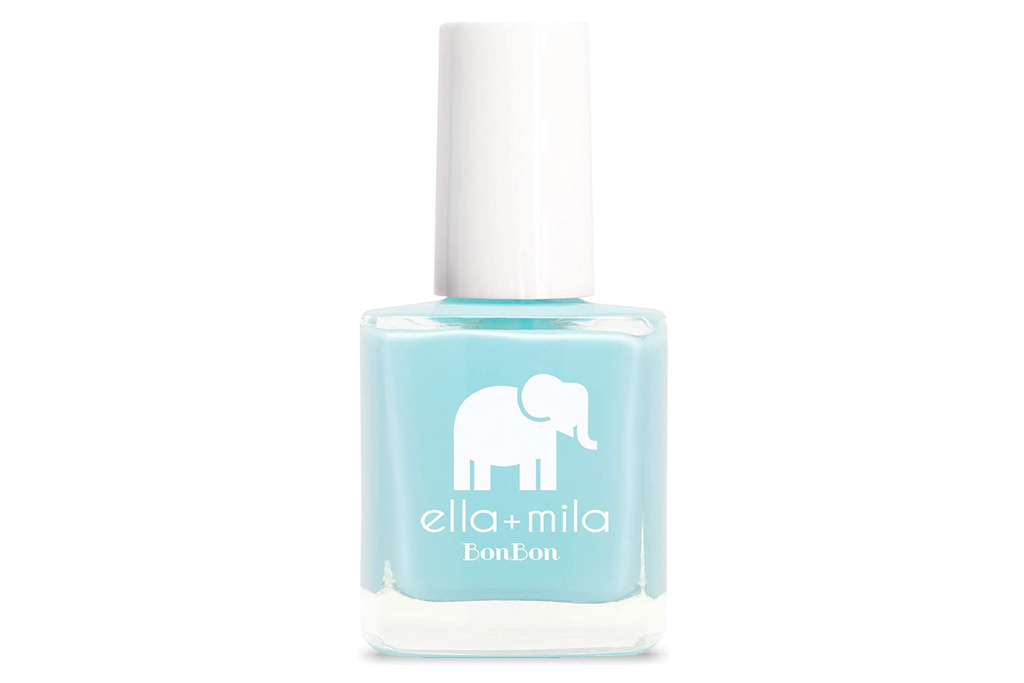 sky blue, nail polish, ella mila