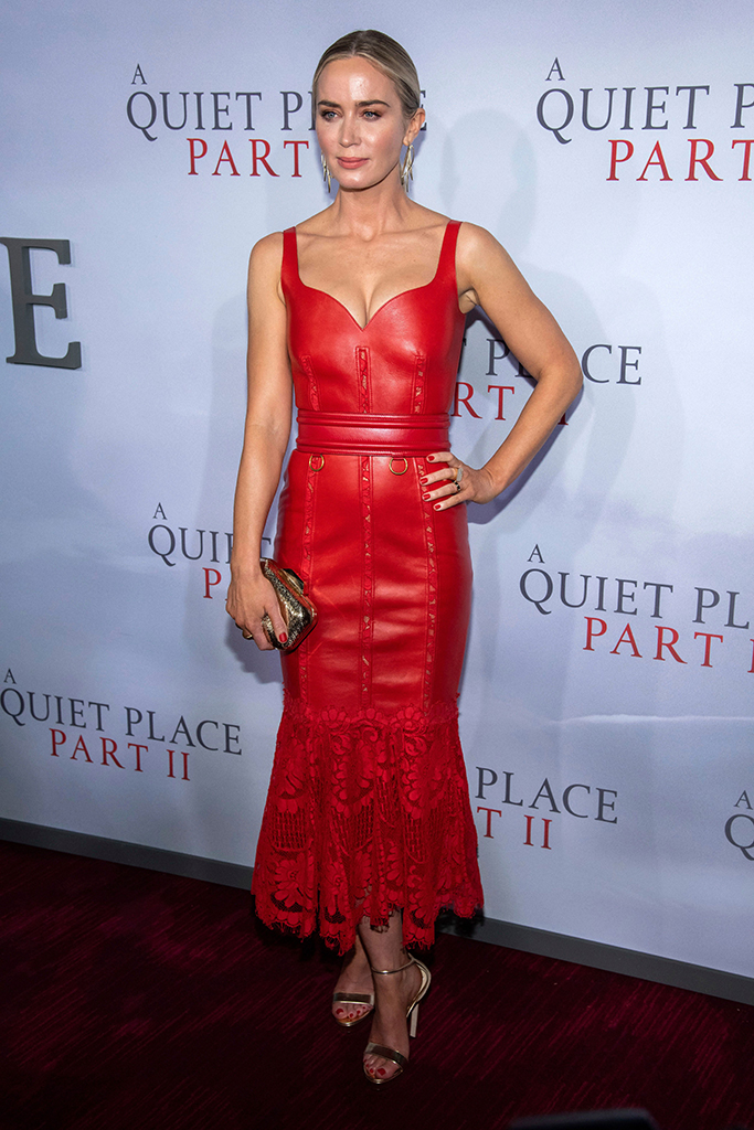 """Emily Blunt attends the world premiere of Paramount Pictures' """"A Quiet Place Part II"""" at Jazz at Lincoln Center's Frederick P. Rose Hall, in New YorkWorld Premiere of """"A Quiet Place Part II"""", New York, USA - 08 Mar 2020"""