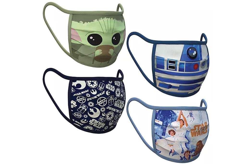 Large – Star Wars Cloth Face Masks 4-Pack Set