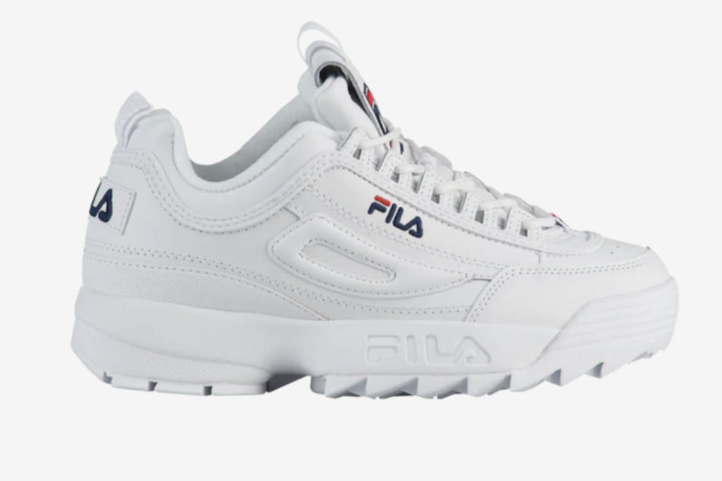 Fila Disruptor II Premium, shoes to pair with bike shorts, summer 20 trends