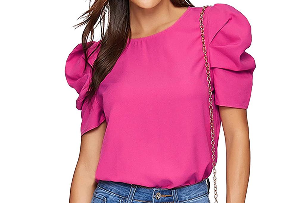 floerns, hot pink, shirt