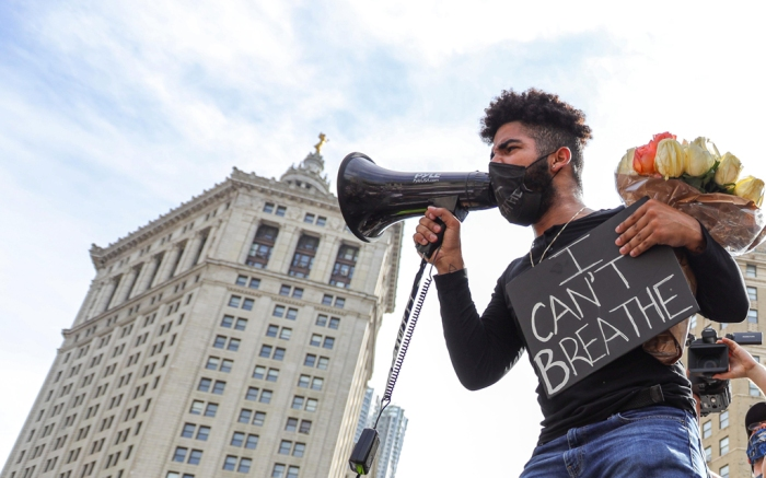george floyd, protest, new york