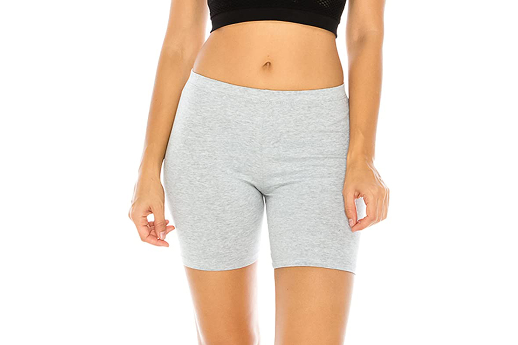 The classic, grey biker shorts