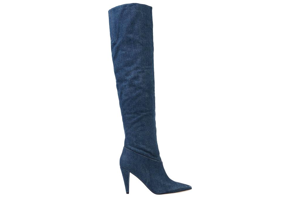 Guess, thigh-high boots