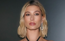 hailey baldwin, style, dress, blonde, shoes,