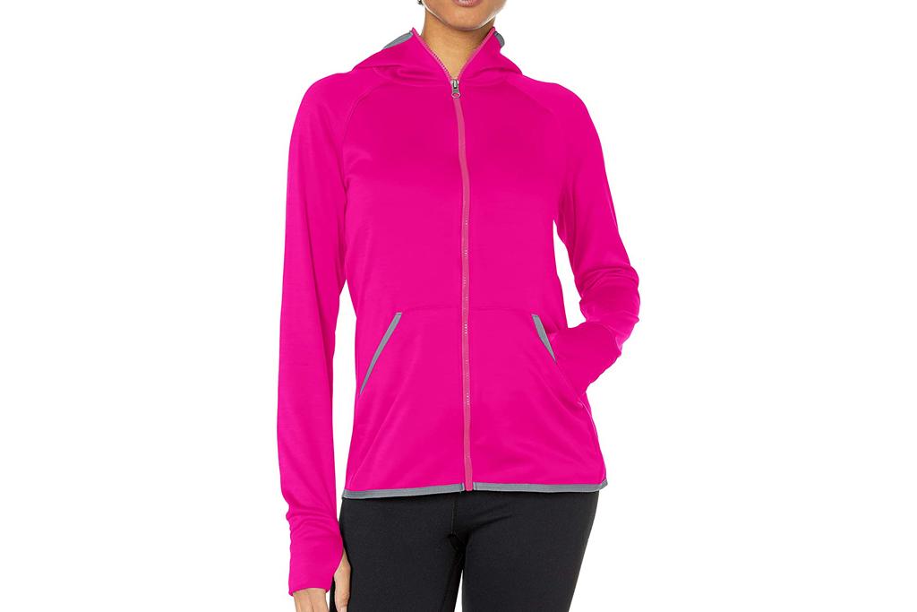 hanes, hoodie, workout, running, women