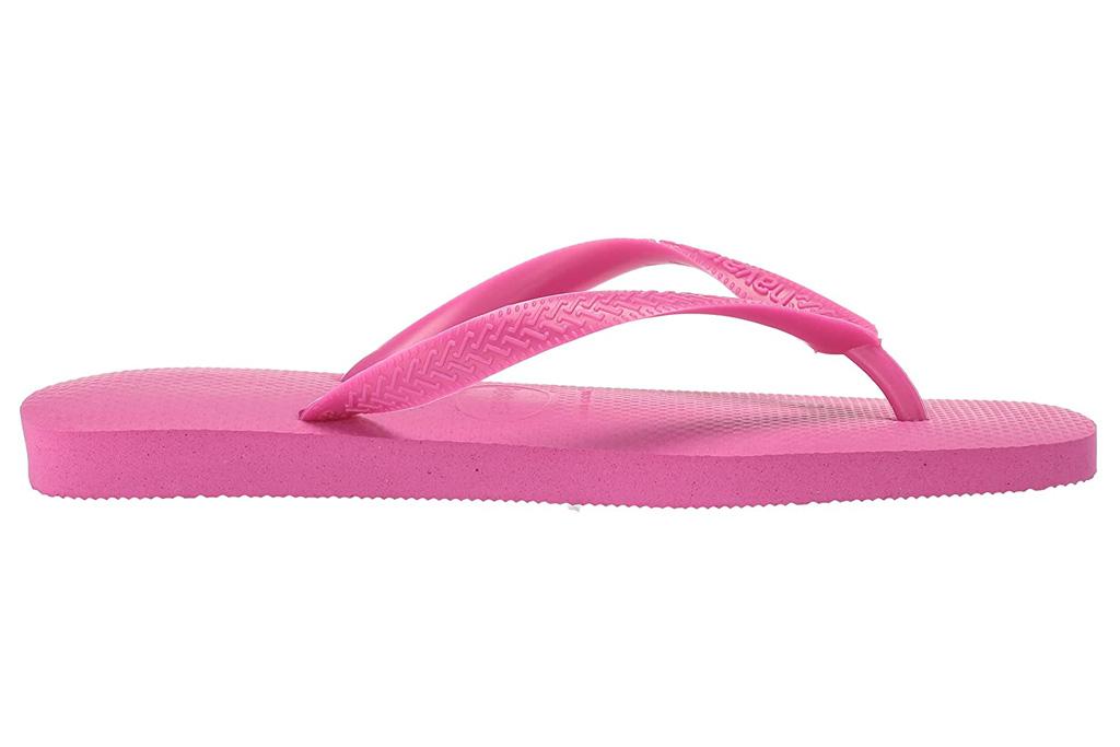 havaianas, pink flip flops