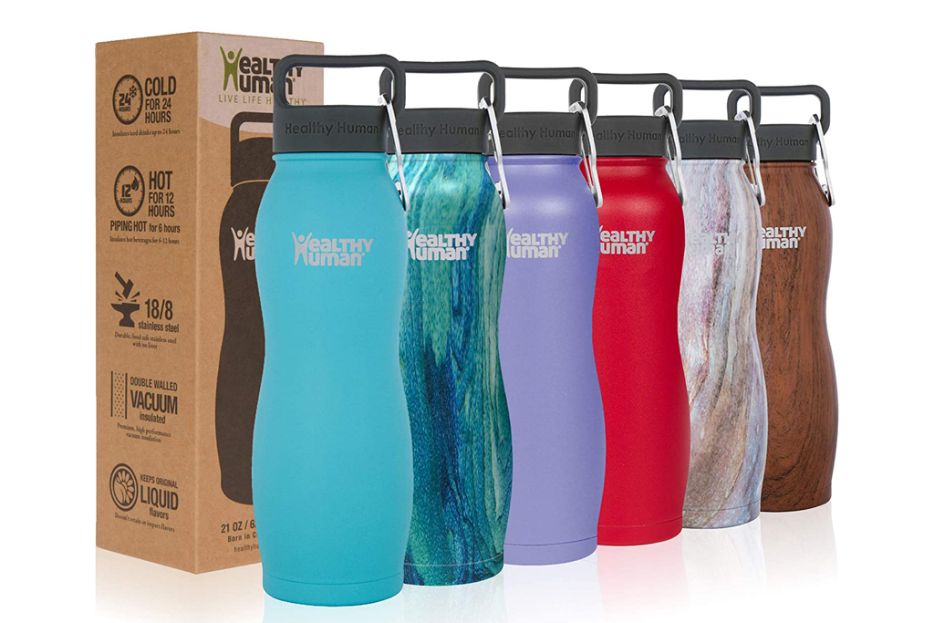 healthy human, water bottle