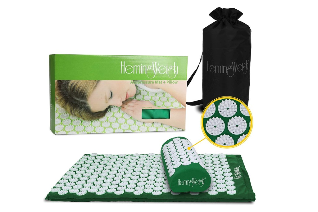 HemingWeigh Acupressure Mat and Pillow Set