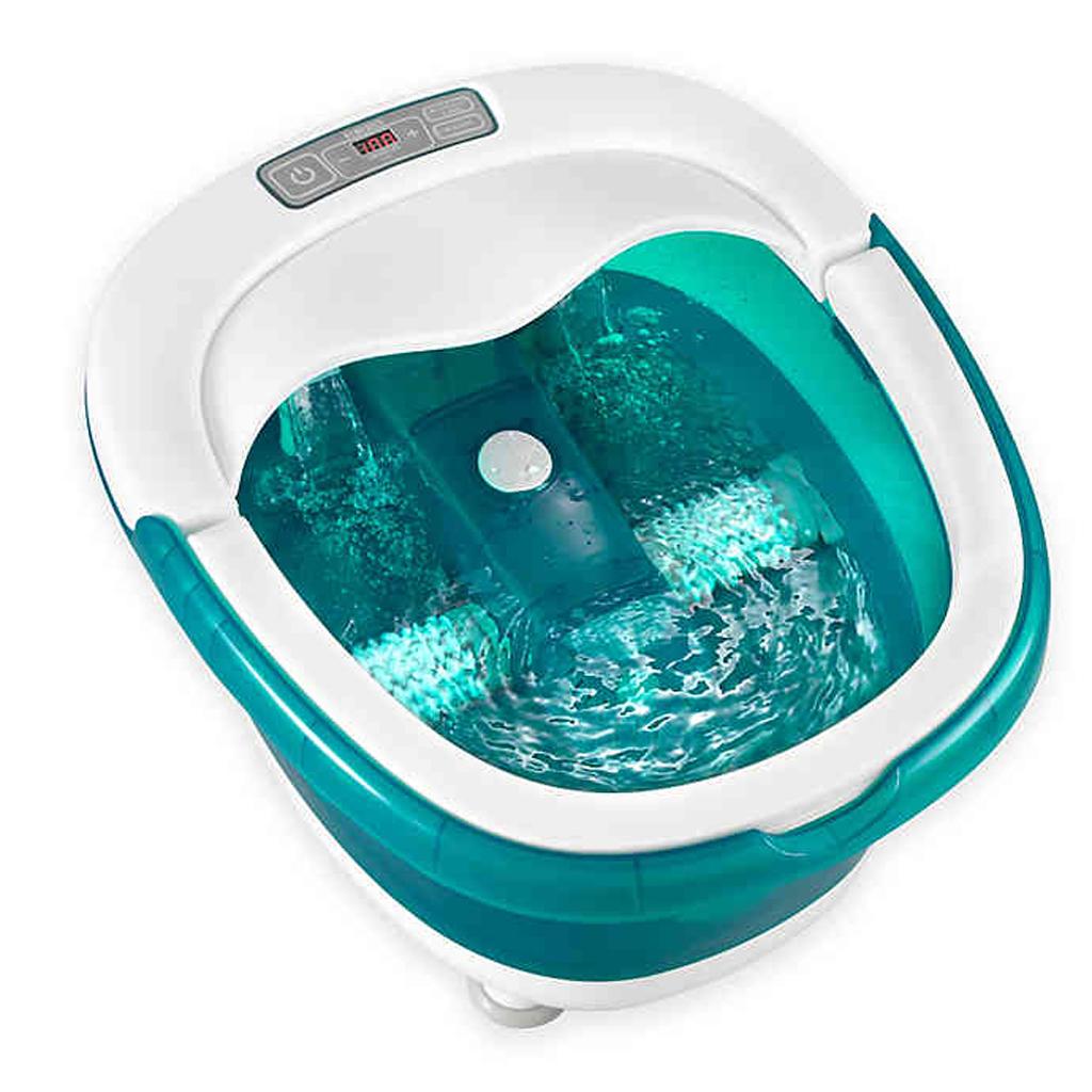 HoMedics® Deep Soak Rolling Footbath with Heat Boost Power