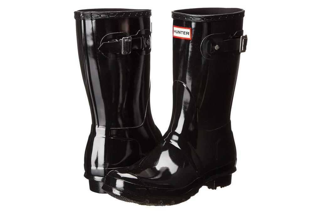 hunter, glossy, rainboots