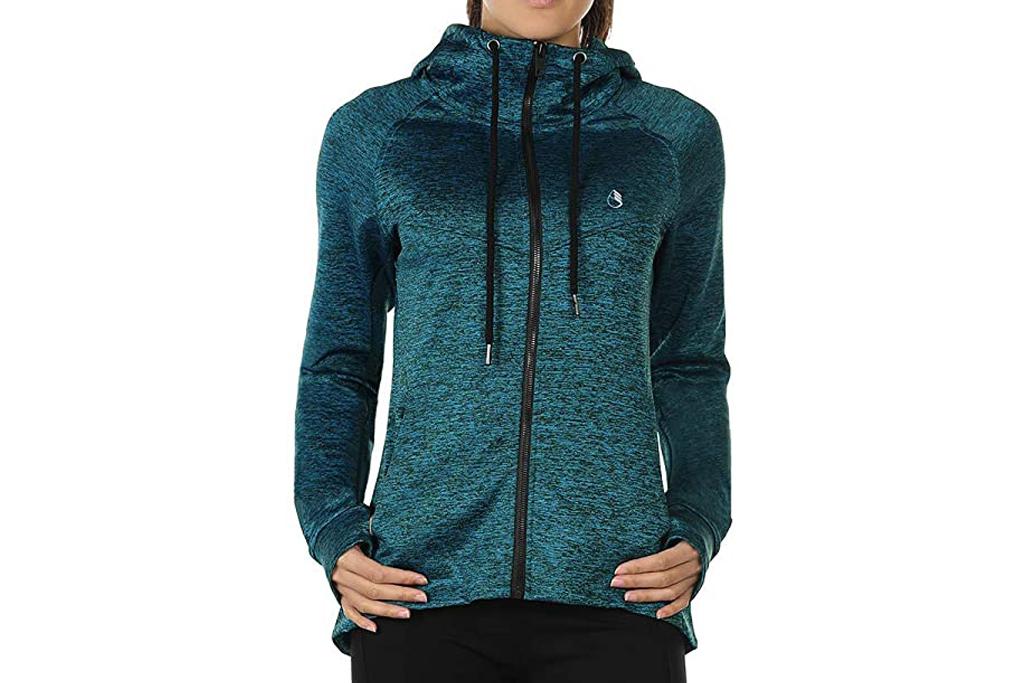 icyzone, hoodie, running, women