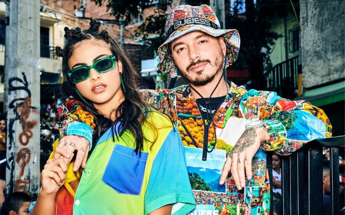 GUESS x J Balvin Colores Collection, tie-dye, guess