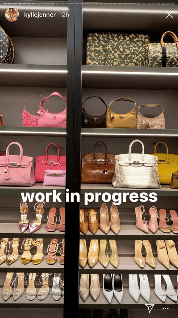 kylie jenner, shoes, heels, pumps, closet, designer