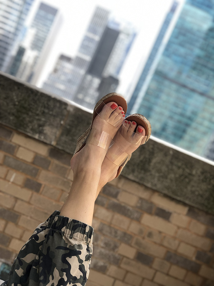 Andre Assous wedges, summer shoes, sandals