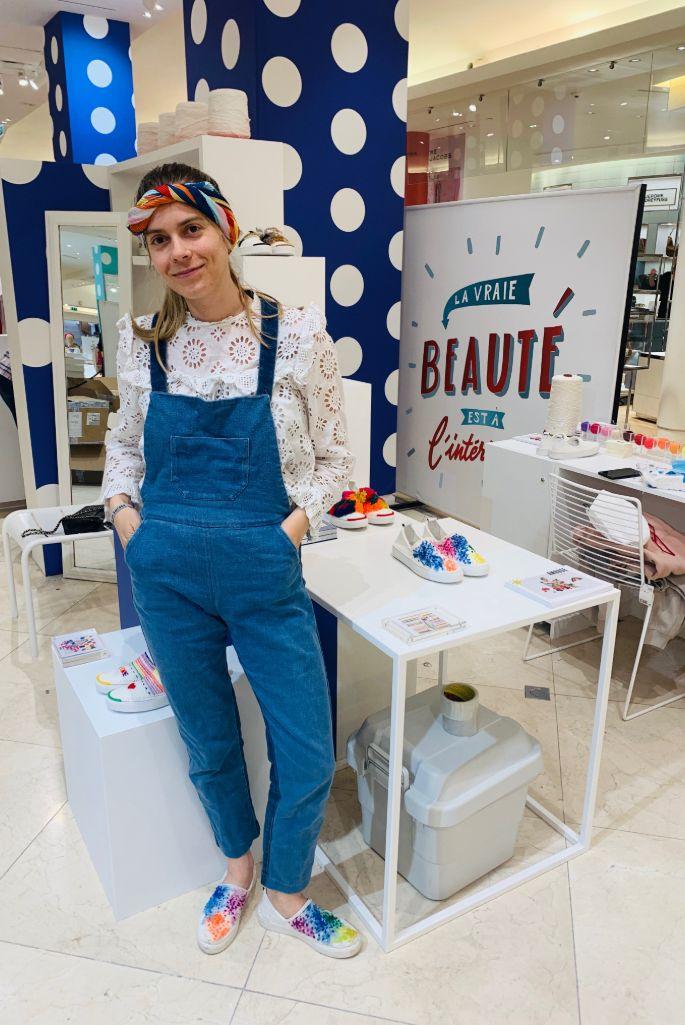 Amrose Paris designer Oceane Castanet