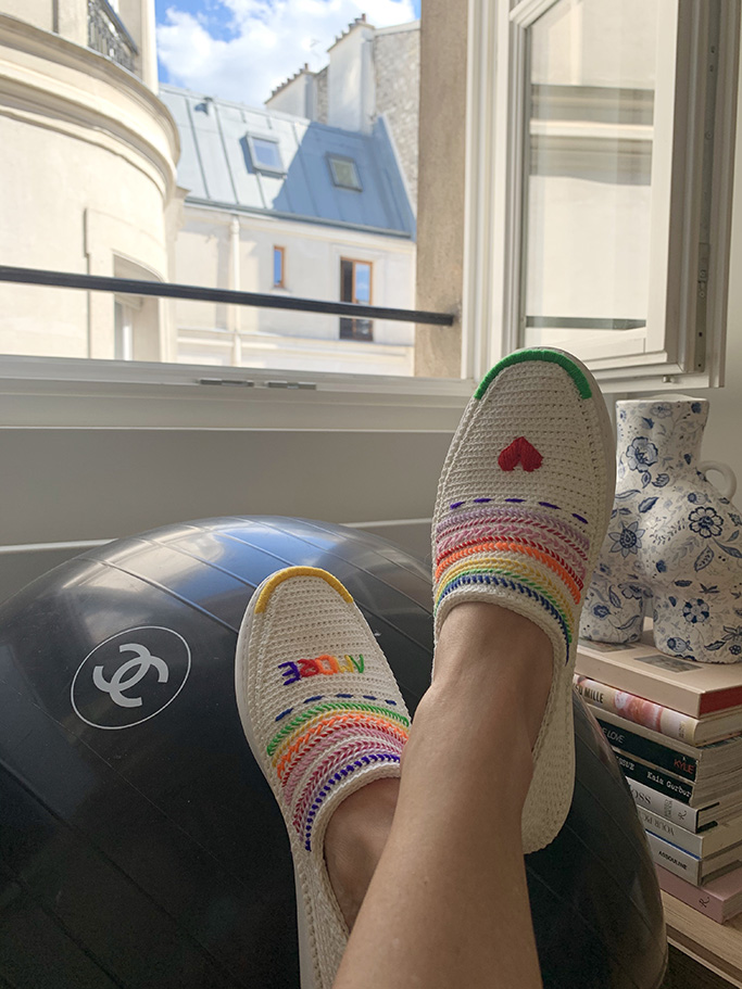 Amrose Paris slips ons, summer shoes, independent designers
