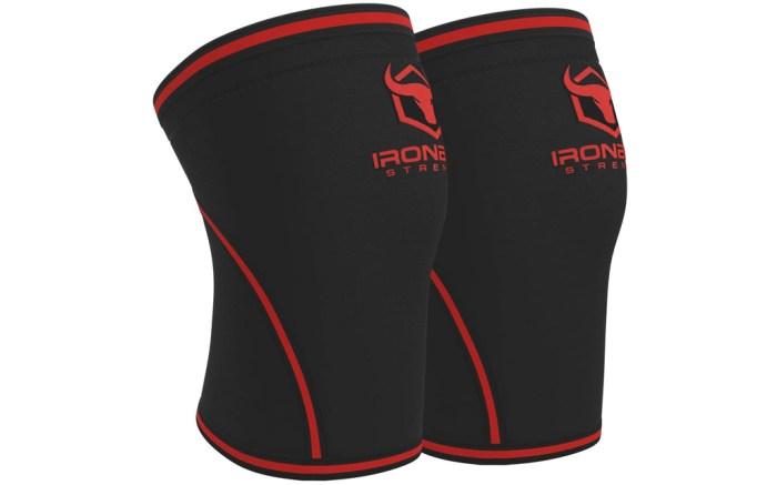iron bull, knee sleeve