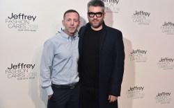 Jeffrey Kalinsky and Brandon MaxwellJeffrey Fashion