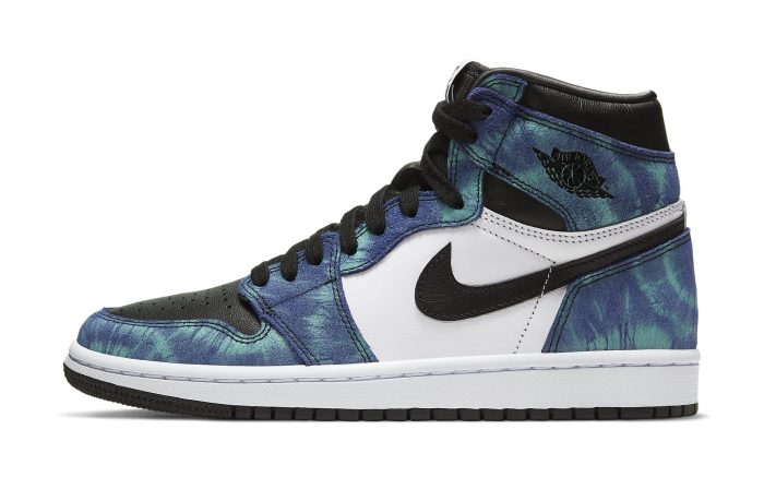 Air Jordan 1 Retro High OG Women's 'Tie-Dye' Lateral