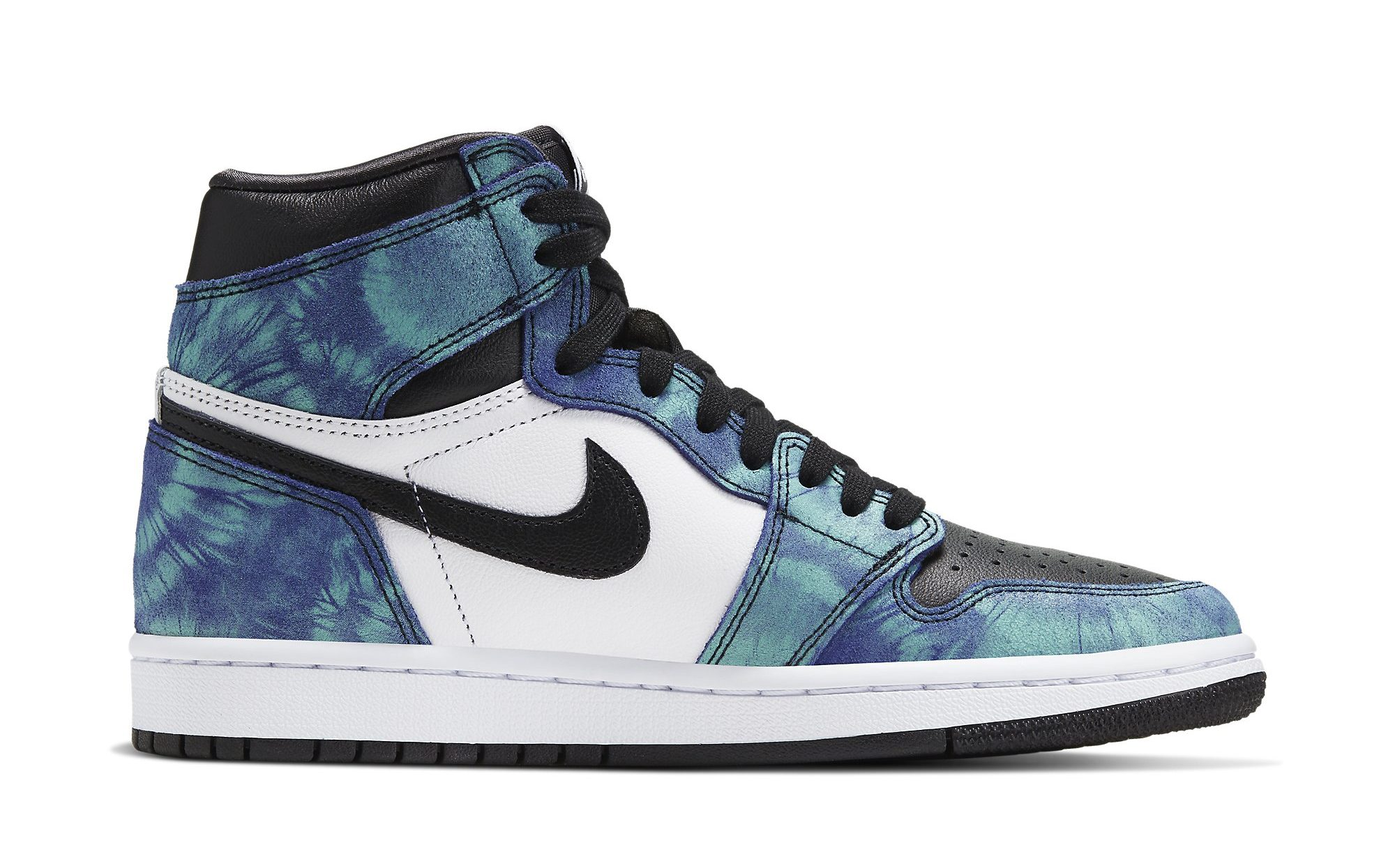 Air Jordan 1 Retro High OG Women's 'Tie-Dye' Medial