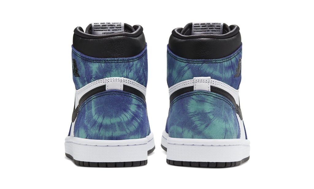 Air Jordan 1 Retro High OG Women's 'Tie-Dye' Heel