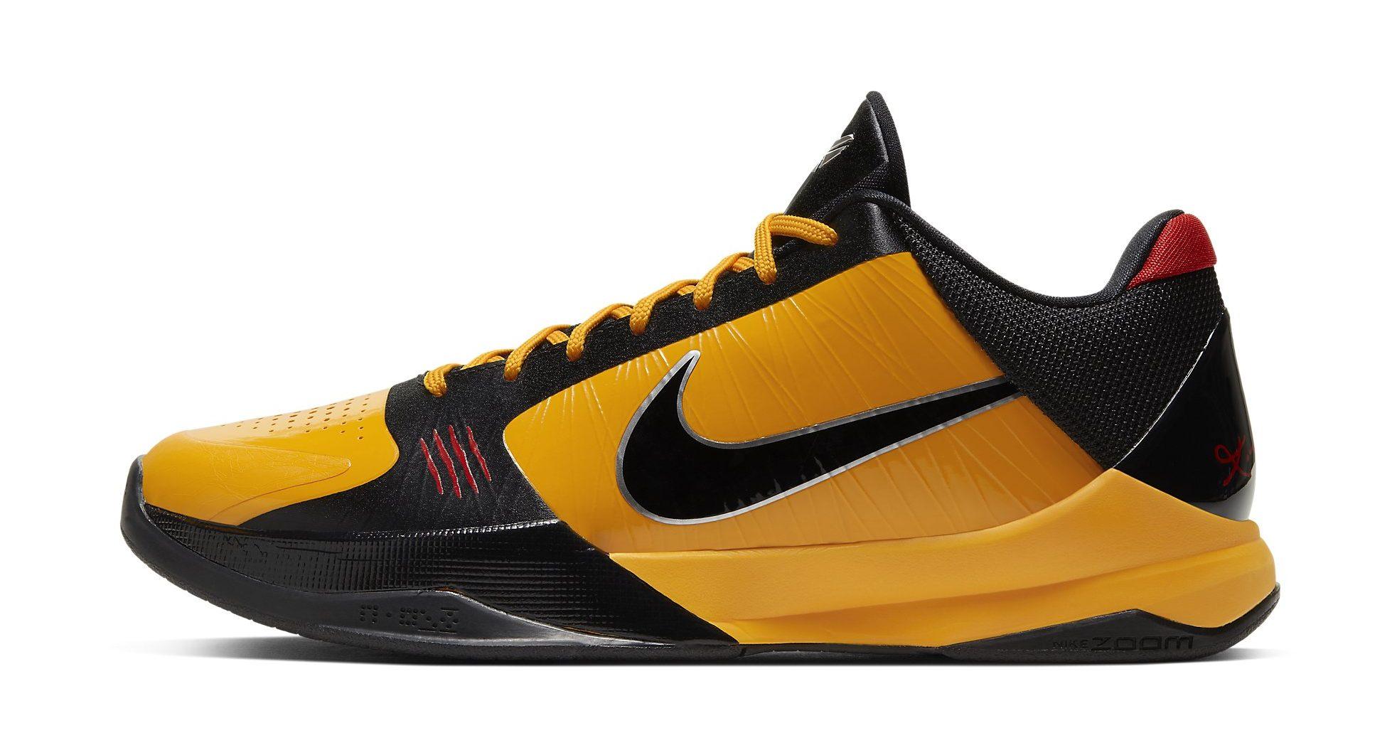 Nike Kobe 5 Protro 'Bruce Lee' Detailed