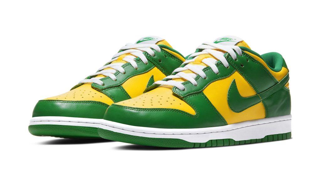 Nike Dunk Low 'Brazil'