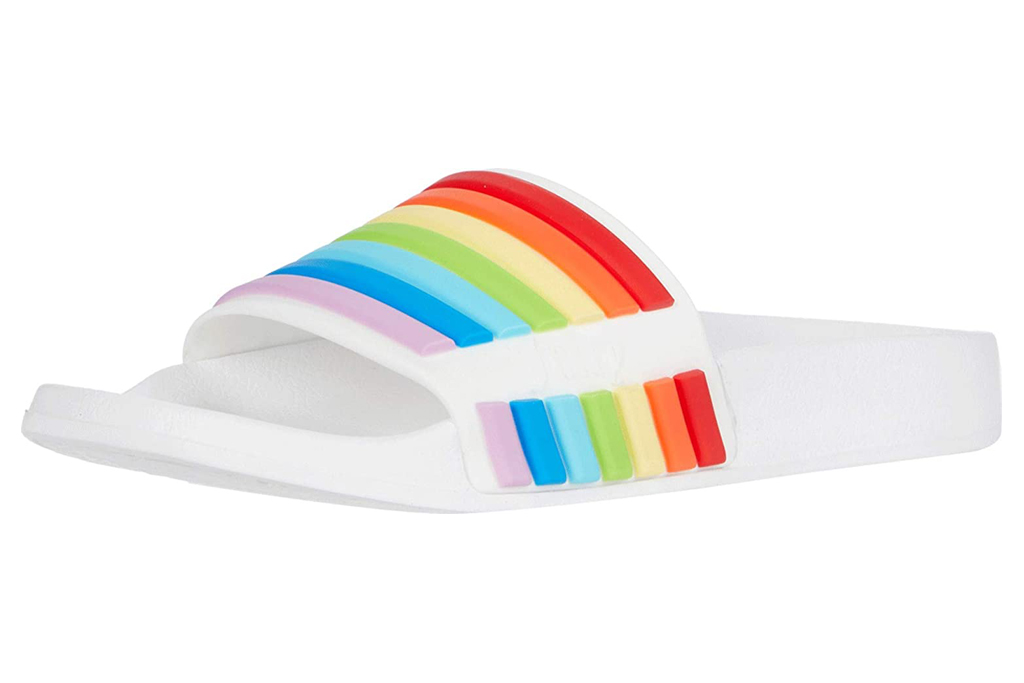 juicy couture, rainbow slides