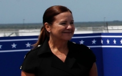 Karen Pence, second lady, space x
