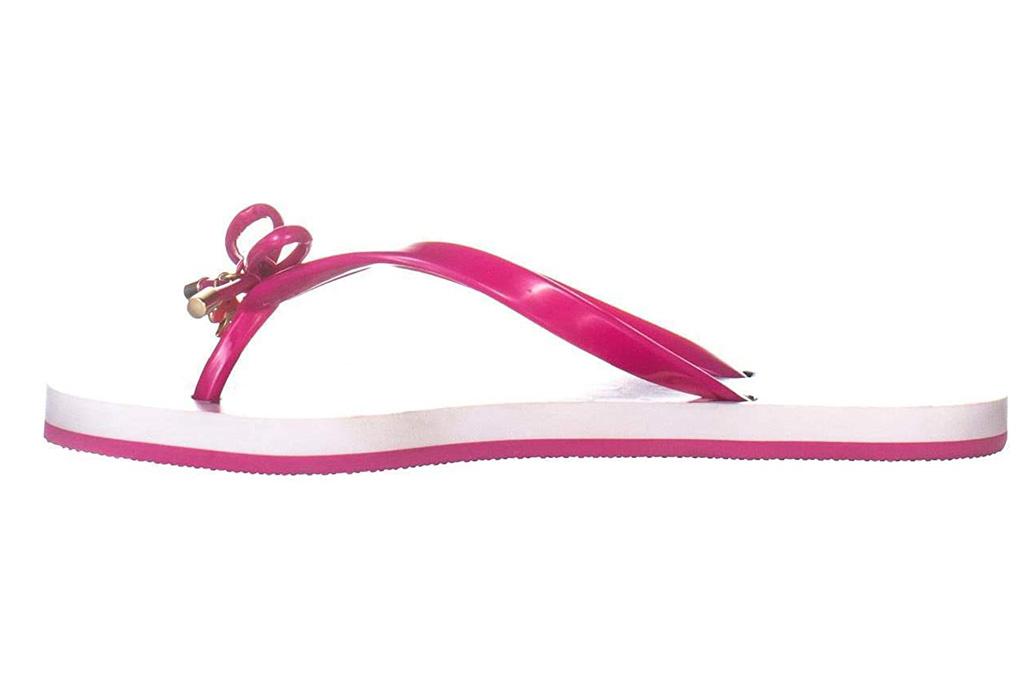 kate spade new york, pink flip flops