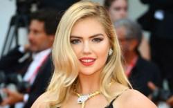kate upton, style, dress, blonde